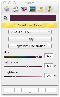 Developer Picker