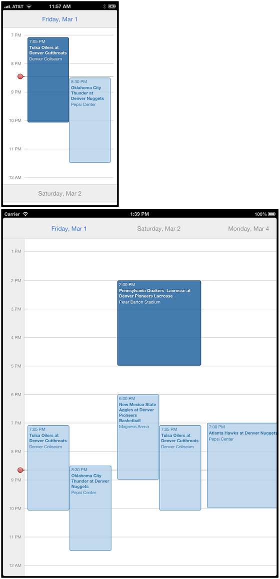 MSCollectionViewCalendarLayout